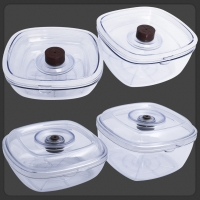 RawMiD vacuumators food containers