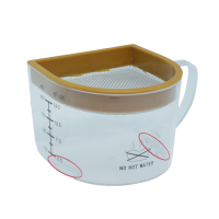 RAWMID Dream juicer manual juice jar
