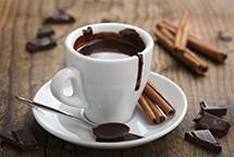 Горячий шоколад в планетарном миксере RAWMID Luxury RLM-05