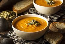 Крем суп в планетарном миксере RAWMID Luxury RLM-05