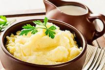 Картофельное пюре в планетарном миксере RAWMID Luxury RLM-05